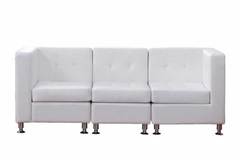 White Sectional Lounge Couches